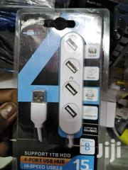 4 Ports USB HUB USB 2.0 Adapter | Computer Accessories  for sale in Nairobi, Nairobi Central