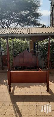 5x6 Wooden Bed Frame For Sale | Furniture for sale in Kajiado, Ongata Rongai