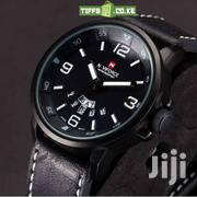 NAVIFORCE MEN'S LEATHER WATCH | Watches for sale in Nairobi, Nairobi Central