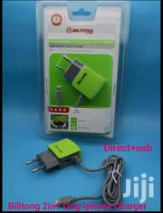Bilitong High Quality Travel Adapter iPhone Charger Cable + USB Port | Accessories for Mobile Phones & Tablets for sale in Nairobi, Nairobi Central