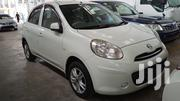 Nissan March 2013 White | Cars for sale in Mombasa, Tudor