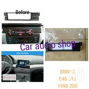 Single Din Fascia For 1998 To 2005 BMW 3 Series (E46) | Vehicle Parts & Accessories for sale in Nairobi, Nairobi Central