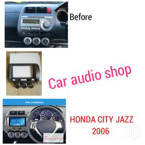 Double Din Fascia For 2002-2006 Honda Jazz /City/Fit
