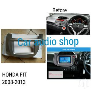 Double Din Fascia For 2008 To 2013 Honda Fit & Jazz
