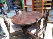 Dinning Table And 4 Seats | Furniture for sale in Mombasa, Ziwa La Ng'Ombe