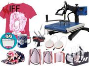 8 In 1 Heat Press Machine For T-shirts Combo Sublimation | Printing Equipment for sale in Nairobi, Nairobi Central