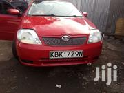 Toyota Allex 2002 Red   Cars for sale in Nairobi, Harambee