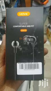 VIDVIE HS629 Wired Super Bass In Ear 3.5mm Stereo Earphones Wt Mic | Accessories for Mobile Phones & Tablets for sale in Nairobi, Nairobi Central