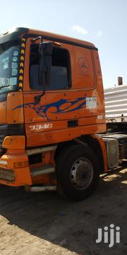 Clean Actros 3346 Double Diff With Highsided Bhachu Trailer | Trucks & Trailers for sale in Mombasa, Changamwe
