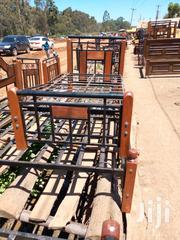 Single Metal And Wood Beds | Furniture for sale in Nairobi, Ngando