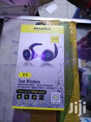 Awei T1 Wireless Bluetooth Noise Cancelling Earphone Headsets Fone De | Accessories for Mobile Phones & Tablets for sale in Nairobi, Nairobi Central