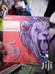 Remax RB-S9 Sport Bluetooth Earphone -red | Accessories for Mobile Phones & Tablets for sale in Nairobi, Nairobi Central