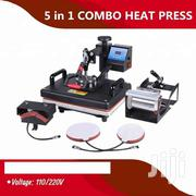 Sublimation Machine Heat Press 5 In 1 Combo Heat Transfer | Printing Equipment for sale in Nairobi, Nairobi Central