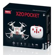 Pocket Drone Syma X20 2.4G 4 Channel Mini RC Quadcopter Aircraft Toy | Cameras, Video Cameras & Accessories for sale in Mombasa, Mji Wa Kale/Makadara