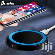 Proelio Round Wireless Charger Fast Charging USB Charger | Accessories for Mobile Phones & Tablets for sale in Mombasa, Mji Wa Kale/Makadara