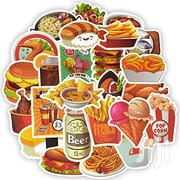 Food Stickers In Chips,Pizza,Burger,Chicken,Sausages,Noodles,Popcorn | Arts & Crafts for sale in Nairobi, Nairobi Central