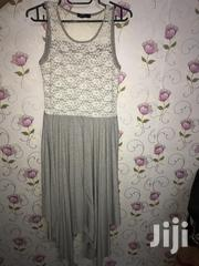 Gray Dress With White Lace | Clothing for sale in Nairobi, Parklands/Highridge