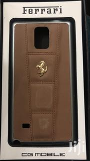 Ferrari Leather Phone Case For Galaxy Note 4 | Accessories for Mobile Phones & Tablets for sale in Nairobi, Parklands/Highridge