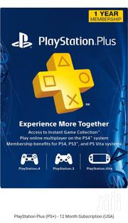 Playstation Plus PS+ 12 Month Subscription   Video Game Consoles for sale in Nairobi, Nairobi Central