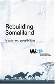 Rebuilding Somaliland -wsp | Books & Games for sale in Nairobi, Nairobi Central