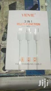 VIDVIE CB414 3 IN 1 Multifunction Fast CHARGING Cable | Accessories for Mobile Phones & Tablets for sale in Nairobi, Nairobi Central