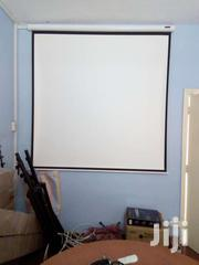 """Manual Projection Screen 70*70'"""" 
