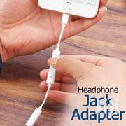 Lighting Connector Headset Headphones Jack Adapter iPhone 7 8 Plus X | Accessories for Mobile Phones & Tablets for sale in Nairobi, Nairobi Central