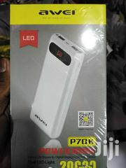 Awei P70K 20000mah Dual USB Power Bank Charger With Led Light | Accessories for Mobile Phones & Tablets for sale in Nairobi, Nairobi Central