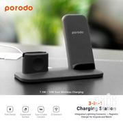 PORODO Cash Livery 3 In 1 Charging Station 7.5W/10W ✅Qi Standard | Accessories for Mobile Phones & Tablets for sale in Mombasa, Tudor