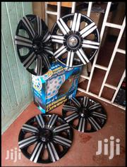 Silver Black Universal Wheel Caps, Free Delivery Within Nairobi Cbd | Vehicle Parts & Accessories for sale in Nairobi, Nairobi Central