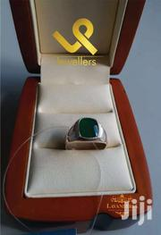 Agate Male Russian Genuine Silver Ring | Jewelry for sale in Nairobi, Lower Savannah