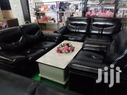 Black Comfy Sofaset | Furniture for sale in Nairobi, Pangani