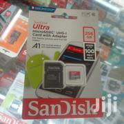Sandisk Ultra 256GB Microsdxc UHS-I Card With Adapter | Accessories for Mobile Phones & Tablets for sale in Nairobi, Nairobi Central
