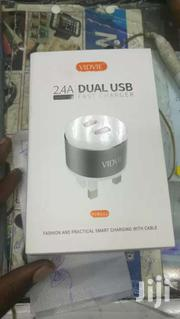 VIDVIE PLB111 Fast Charger Dual USB Ports | Accessories for Mobile Phones & Tablets for sale in Nairobi, Nairobi Central