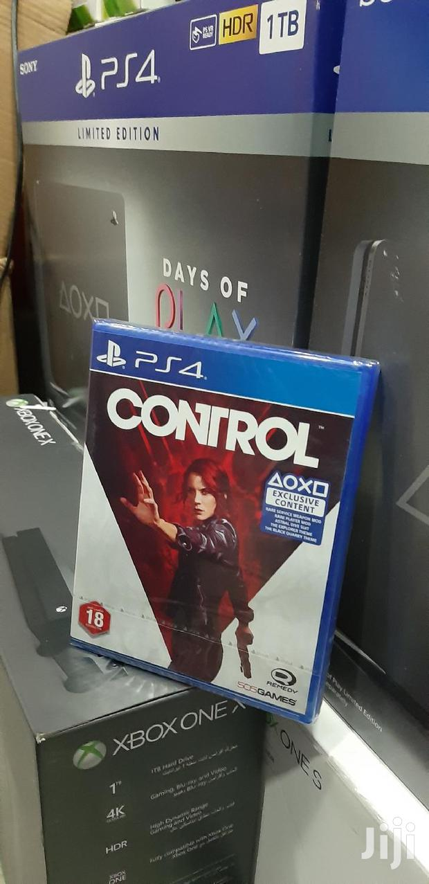 Control Ps4 Game