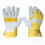 Yellow Palm Leather Gloves | Manufacturing Materials & Tools for sale in Nairobi, Nairobi Central