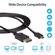 Startech 6 Ft USB C To Displayport Video Cable Thunderbolt 3 - 4K   Computer Accessories  for sale in Nairobi, Parklands/Highridge