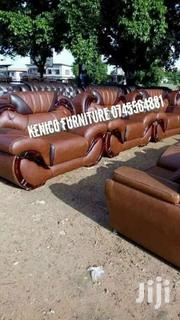 7 Seater Leather Design | Furniture for sale in Kisumu, Kondele