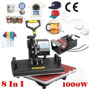 8 In 1 Heat Press Machine Digital Transfer Sublimation T-shirt Mug Hat | Printing Equipment for sale in Nairobi, Nairobi Central