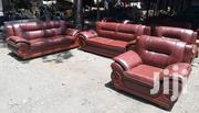 Readymade 7 Seaters Leather Seats | Furniture for sale in Nairobi, Ngara