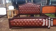 Ready Made 6/6 Brown Beds | Furniture for sale in Kajiado, Ongata Rongai
