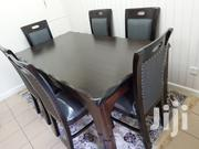 6 Seater Dinning Table Made Of Mahogany Wood | Furniture for sale in Nairobi, Embakasi