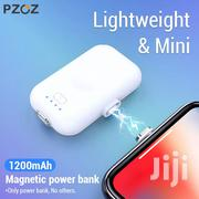 PZOZ Magnetic Power Bank 1200mah Mini Magnet Charger | Accessories for Mobile Phones & Tablets for sale in Mombasa, Mji Wa Kale/Makadara