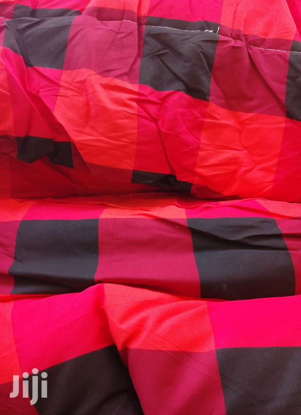 6*6 Cotton Duvets With A Matching Bed Sheet And 2 Pillow Cases