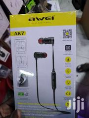 Awei AK7 Intelligent Magnetic Control Wireless Bluetooth Earphone IPX4 | Accessories for Mobile Phones & Tablets for sale in Nairobi, Nairobi Central