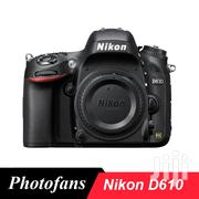 "Nikon D610 DSLR Camera Fx-format -24.3 MP -1080P Video 3.2"" LCD 