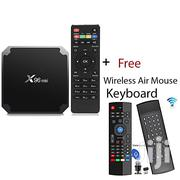 X96mini Android 7.1 ROM Android Box 4K + Wireless Air Mouse Keyboard   TV & DVD Equipment for sale in Nairobi, Nairobi Central