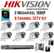 Hikvision 7 Channel Turbo HD CCTV Kit 2TB Hard Drive 1080p | Cameras, Video Cameras & Accessories for sale in Nairobi, Nairobi Central