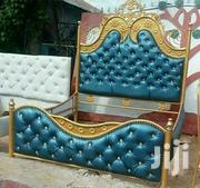 5by Six Iron Bed Leather | Furniture for sale in Mombasa, Bamburi