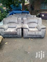 Elegant Contemporary Quality Ready Made 5 Seater Recliner Sofa | Furniture for sale in Nairobi, Ngara